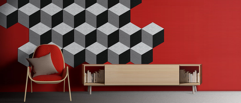 Walltone-Acoustic-Design-RHOMBUS-cube-black-white
