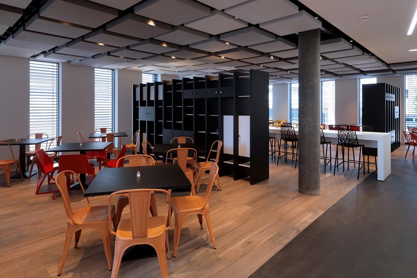 Hotel Ibis Styles Basel City Decho acoustic panels