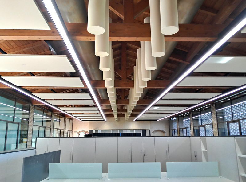 Acoustic-treatment-Goldenpoint-offices