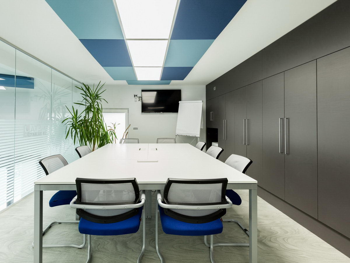 Acoustic-treatment-and-lighting-systems-office