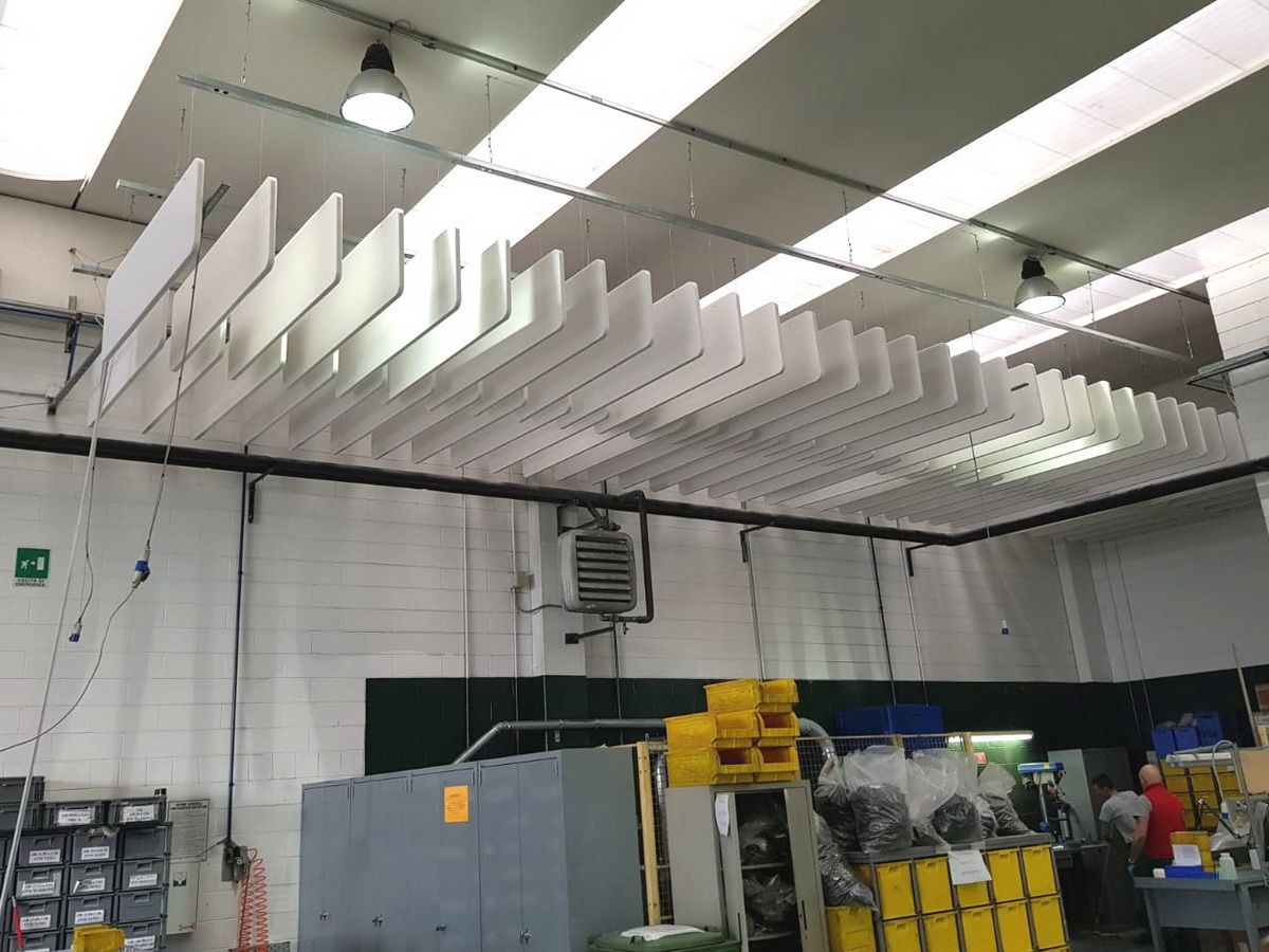 Soundproofing-industrial-areas-baffles