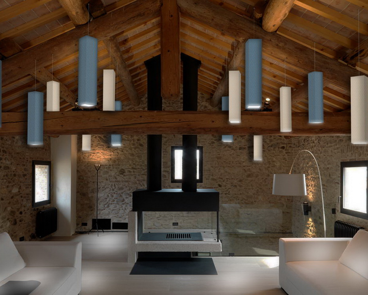 Stille-suspended-sound-absorbing-lamps