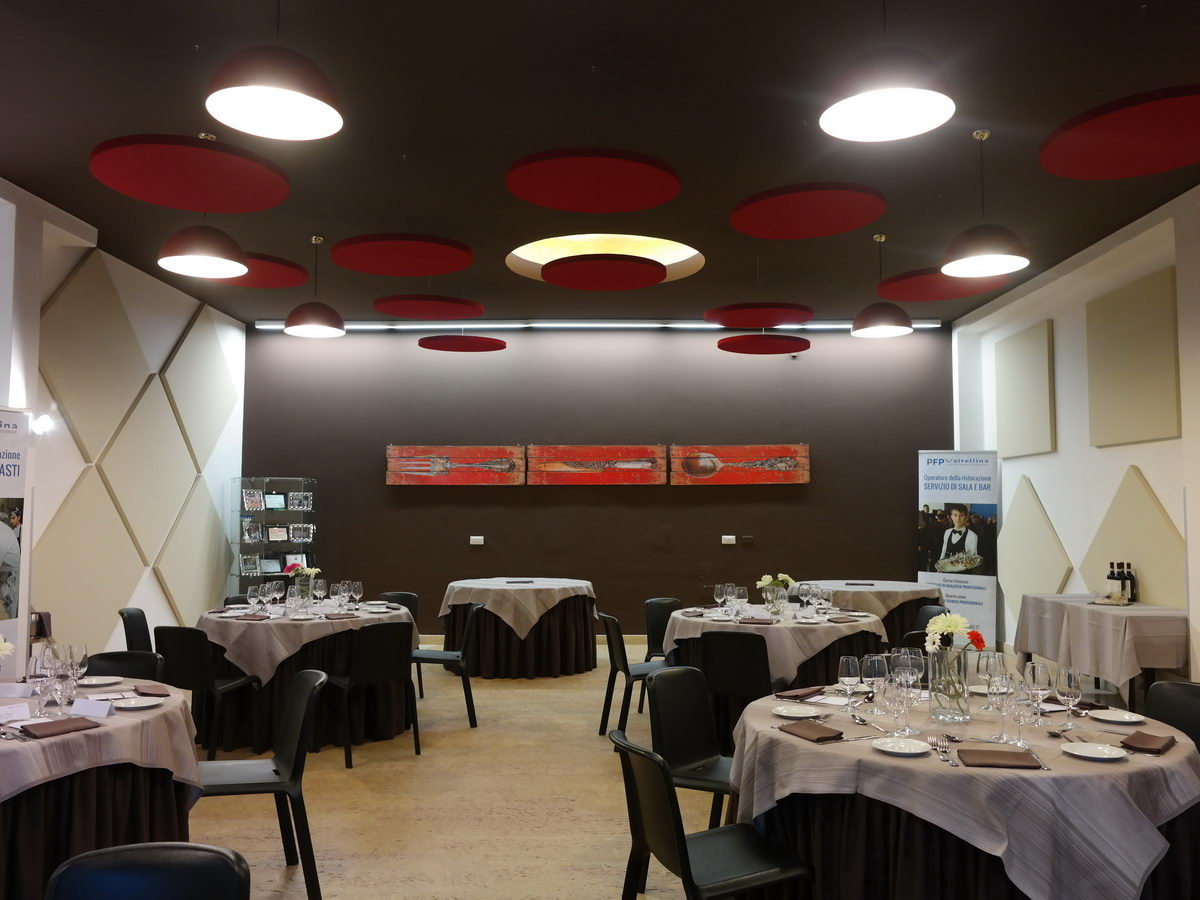 Comfort acustico ristoranti - Scuola di cucina roma ...