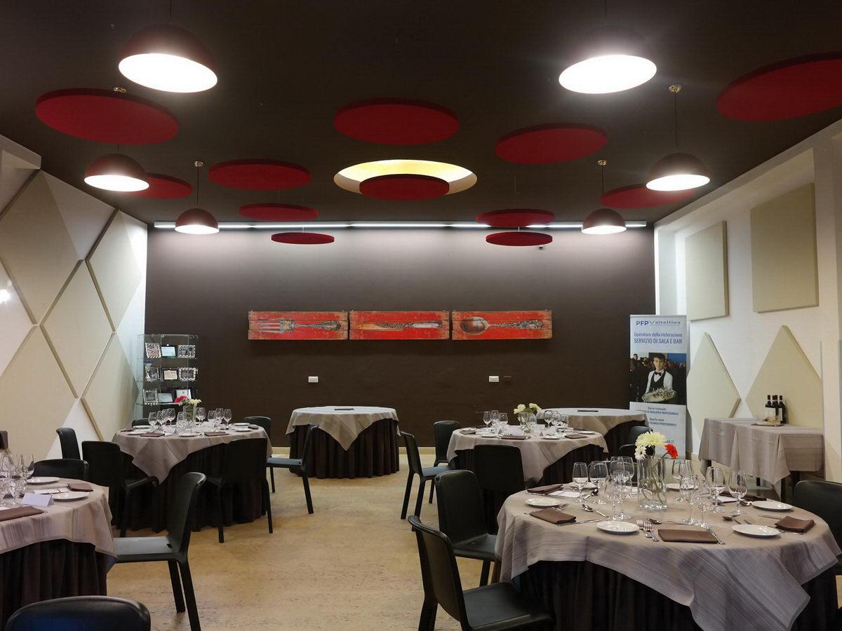 Pannelli fonoassorbenti acustico serie aural - Scuola di cucina torino ...